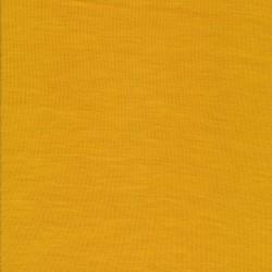 Ribstrikket 100% merino uld, carry-gul