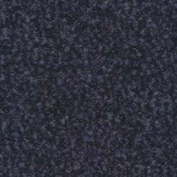 Boucle uld meleret i mørkeblå og denim