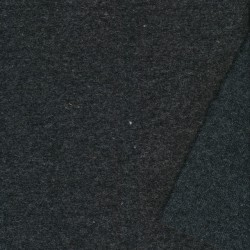 Let filtet uld i koksgrå meleret