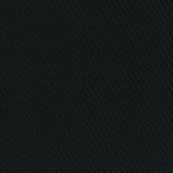 Frakkeuld i grov twill-look i sort