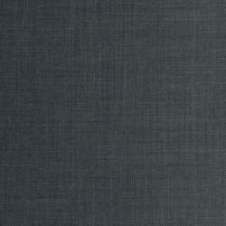 Uld/polyester m/stræk mørk grå meleret