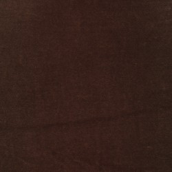 Velour i chokoladebrun