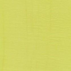 Viscose/polyester m/struktur, lys lime-gul