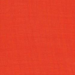 Rest Viscose/polyester m/struktur, orange 140 cm.