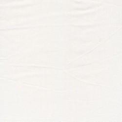 Rest Crepé viscose i knækket hvid- 45 cm.