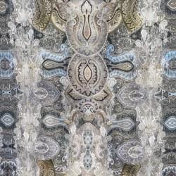 Jersey i Viscose/lycra digitalprint med stort mønster