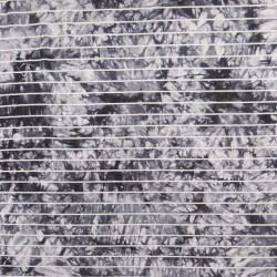 Viscose jersey batik med striber i grå