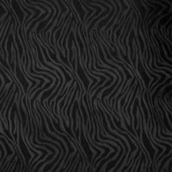 Windbreaker med zebra mønster i sort
