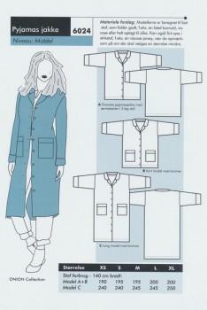 Onion 6024 -Pyjamas jakke