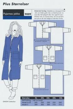 Onion 9009 Plus-Pyjamas jakke