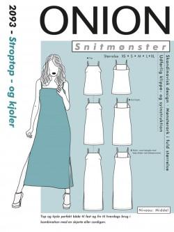 Onion 2093 - Stroptop - og kjoler