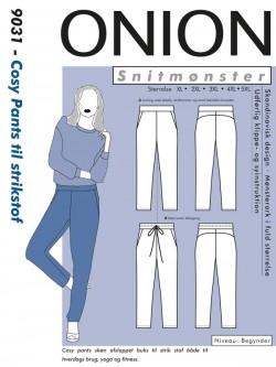 Onion 9031 Plus - Cosy Pants til strikstof
