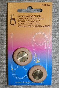 Pony Perfect Stopper til wire 12-15 mm.