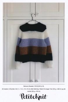 Sekvens Sweater - PetiteKnit strikkeopskrift