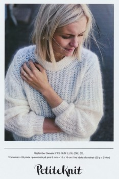 September Sweater - PetiteKnit strikkeopskrift