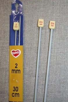Strikkepinde/Jumperpinde 2-3½