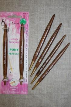 Pony Perfect udskiftelige bambus pinde str. 8-10