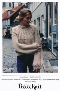 Sunday Sweater - PetiteKnit strikkeopskrift