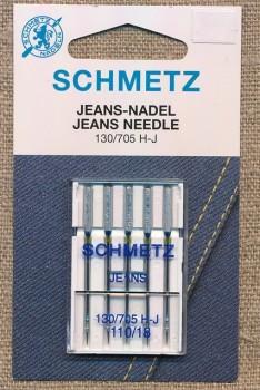 Symaskinenåle til jeans110/18