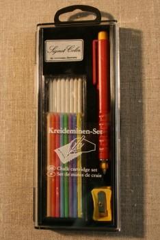 Markeringssæt m/tryk-blyant