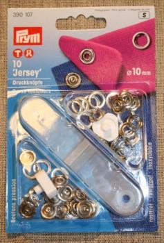 Jersey tryklåse med værktøj, Prym