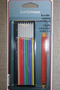 Markeringssæt til tryk-blyant, refill