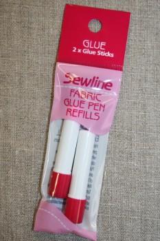 Lim pen til textil, refill