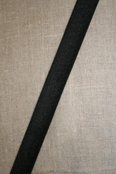 3 meter Linningsbånd sort 25 mm.