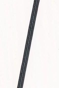Rest Skulderbånd i sort, 435+195 cm.