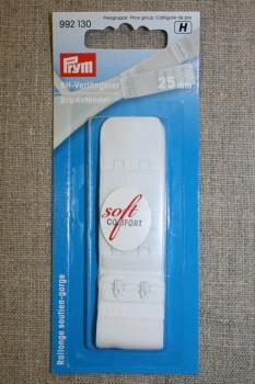 BH-forlænger 25 mm. hvid