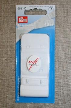 BH-forlænger 40 mm. hvid