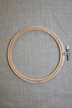 Broderi-ring træ 10 cm.