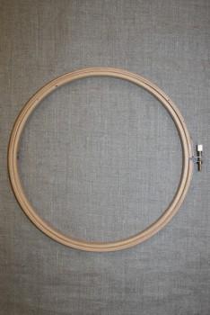 Broderi-ring træ 20 cm.