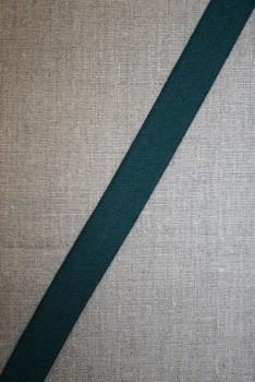 20 mm. elastik flaskegrøn