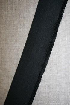 50 mm. flæseelastik sort