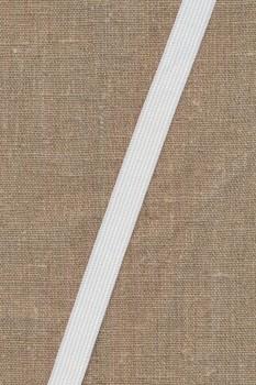 15 mm. elastik hvid blød