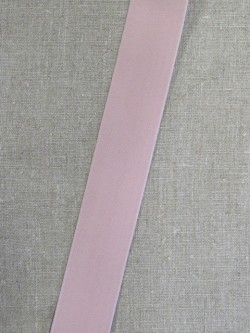 Elastik 40 mm. i pudder-rosa