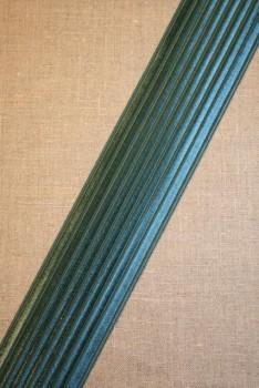 Rest Elastik til bælter 60 mm. petrol-grøn, 69 cm.