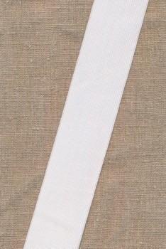 50 mm. elastik hvid