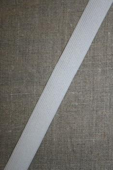 20 mm. elastik hvid