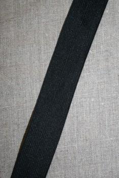 Rest 30 mm. elastik sort, 50+52 cm.