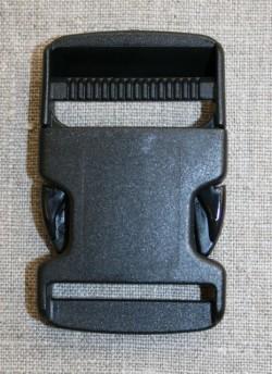 Klik spænde sort 40 mm.