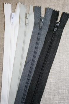 20 cm. lynlås/kjolelås