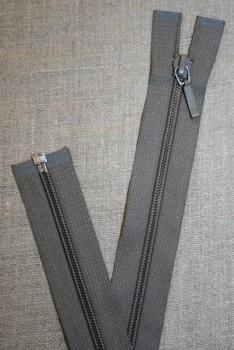 69 cm lynlås YKK, grå