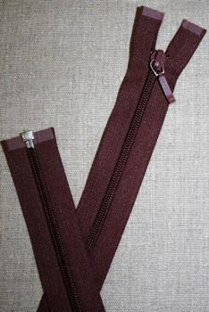 68 cm delbar lynlås YKK, bordeaux