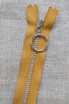 25 cm. lynlås 4 mm aluminium fast med ring i carry