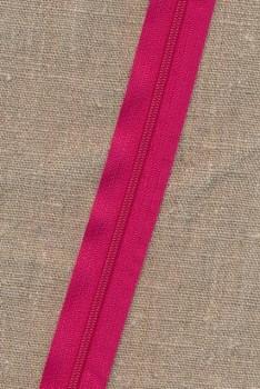 Lynlås i metermål, pink