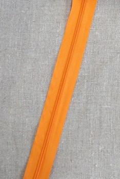 Lynlås i metermål, orange