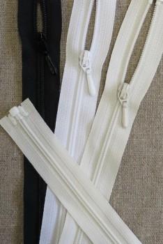 35 cm. delbar spiral/ corsage lynlås