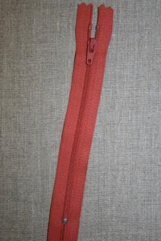 16 cm plast lynlås YKK Brændt orange